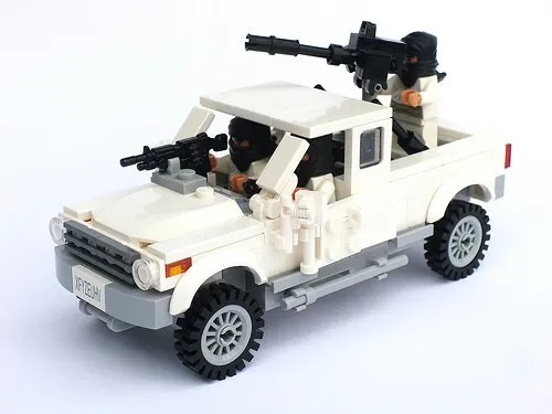 Lego Terrorist Pick-Up