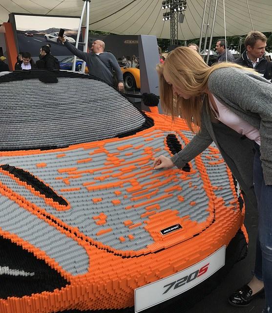 Lego McLaren 720S Goodwood FoS