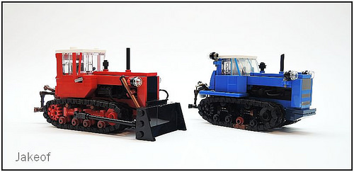 Lego DT 75 Tractor