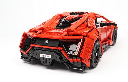 Lego Lykan Hypersport Remote Control