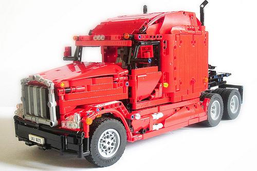 Lego Technic Remote Control Peterbilt Truck