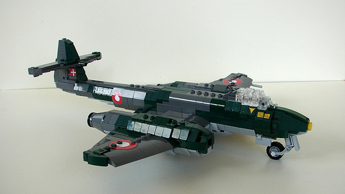 Lego Gloster Meteor