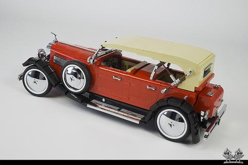 Lego Duesenberg SJ Dual Cowl Phaeton