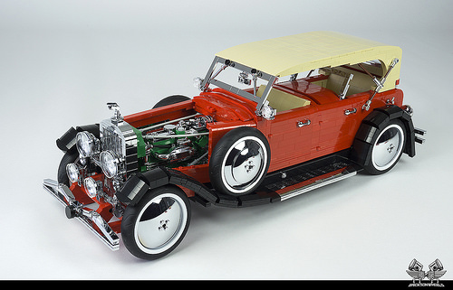Lego 1935 Duesenberg SJ Dual Cowl Phaeton