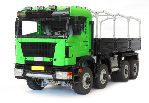 Lego 8x8 Truck Remote Control