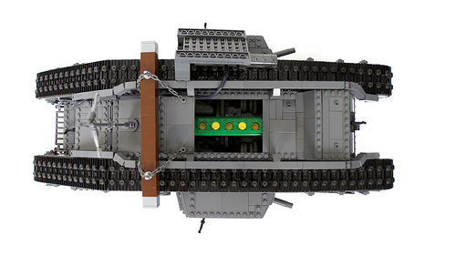 Lego Mark V Tank RC