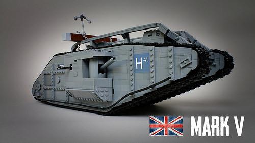 Lego Mark V Tank Sariel