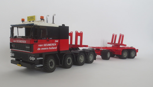 Lego DAF 3600 8X4 ATI Van Seumeren