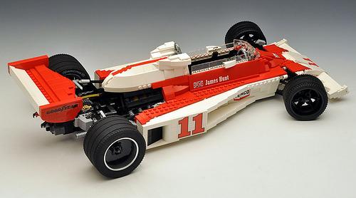 Lego McLaren M23 James Hunt