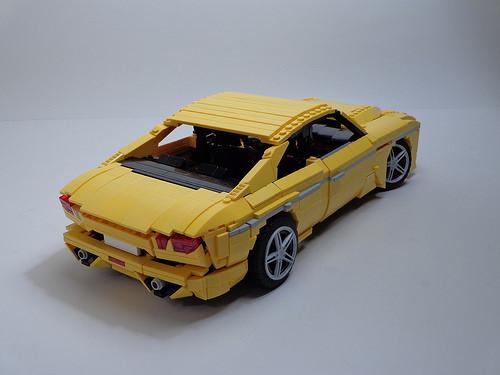 Lego Model Team Saloon Car