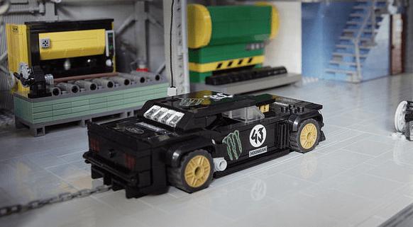 Lego Ken Block Mustang