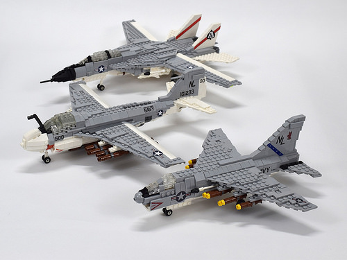 Lego US Navy Aircraft