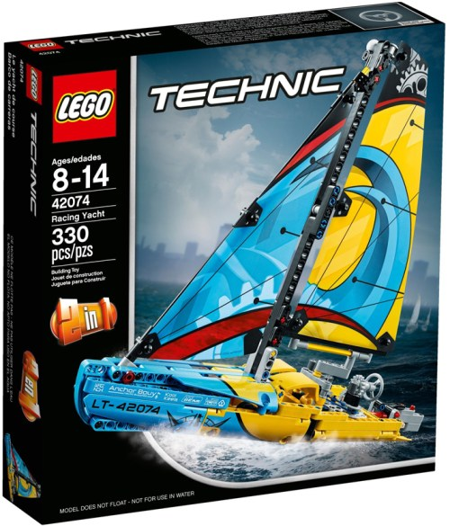 Lego Technic 42074 Yacht Review