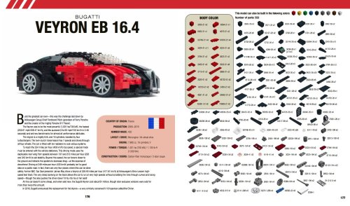 Lego Bugatti Veyron Instructions