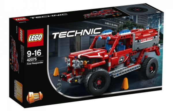 Lego Technic 42075 First Responder Review