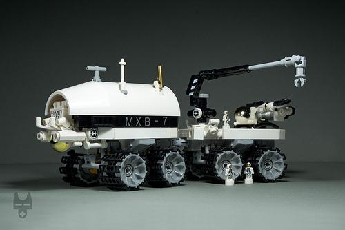 Lego Lunar Rover