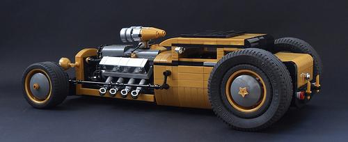 Lego V8 Hot Rod