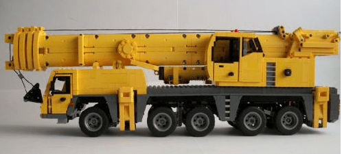 Lego Liebherr Mobile Crane