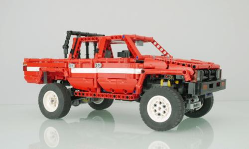 Lego Toyota Hilux 4x4