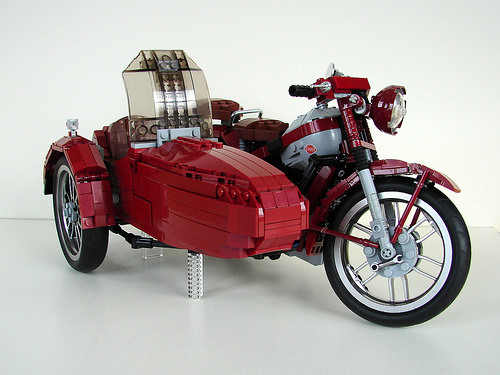 Lego Nimbus Motorcycle & Sidecar
