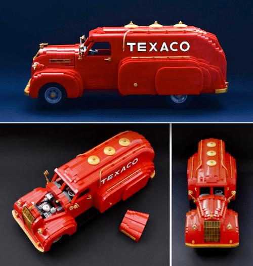Lego Dodge Airflow Petrol Tanker