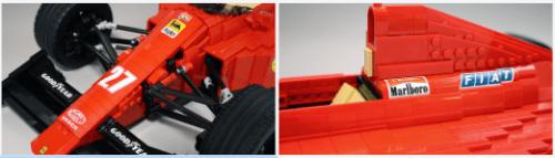 Lego Ferrari 640 Formula 1