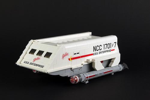 Lego Star Trek Galileo