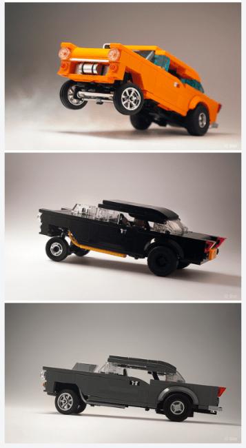 Lego Classic Drag Racers