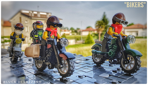 Lego Bikers
