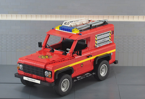 Land Rover Defender Rescue