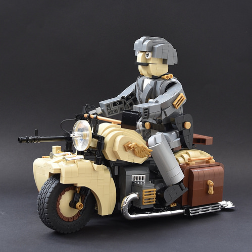 Lego Dispatch Rider Afrika Korps