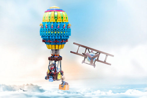 Lego Air Balloon