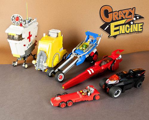 Lego Crazy Engine Racers
