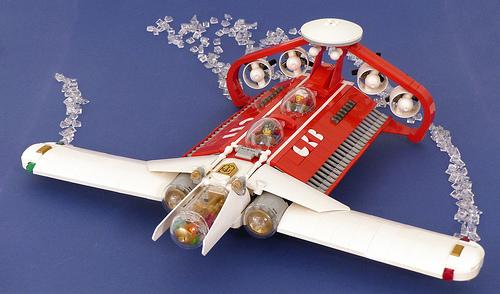 Lego Ekranoplan