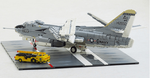 Lego US Navy A-3B Skywarrior