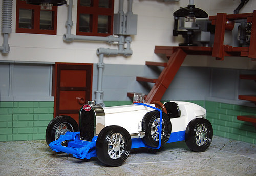 Lego Bugatti Type 37A