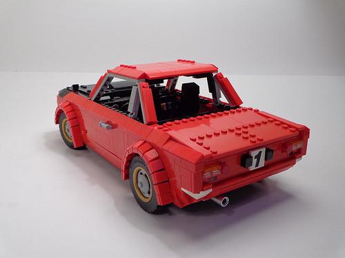Lego Lancia Fulvia Rallye