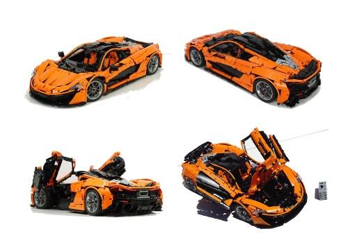 Lego Technic McLaren P1 Remote Control