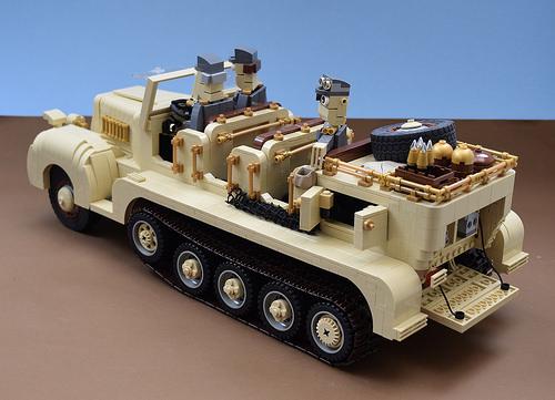 Lego Sd Kfz 7 Half-track
