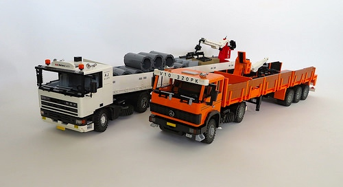 Lego DAF, Mercedes-Benz Truck
