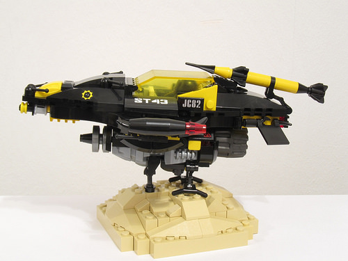 Lego Blacktron Wasp Spacecraft