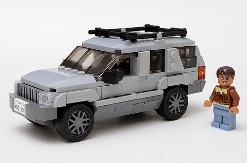Lego Jeep Grand Cherokee