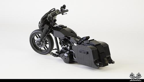 Lego Harley Davidson Street Glide 1:10