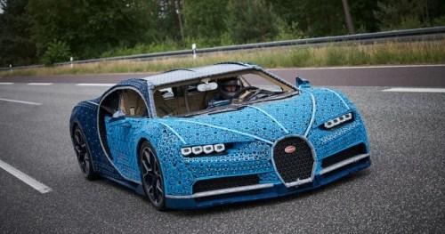 LEGO Technic Bugatti Chiron Life Size