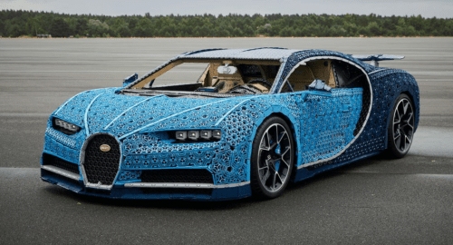 Lego Technic Bugatti Chiron Life-Size