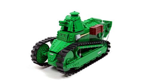 Lego Renualt FT-17 Tank