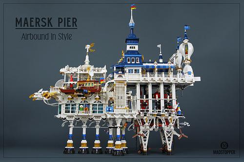 Lego Sky-Fi Floating Pie