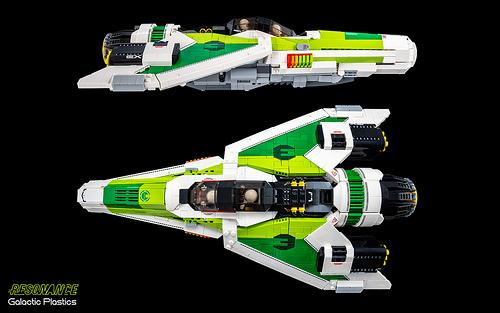 Lego Wipeout Racer