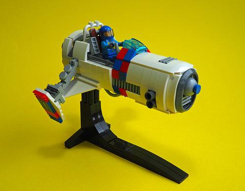 Lego Speeder Bike