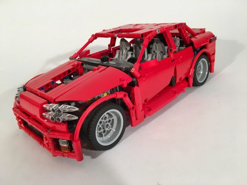 Lego Technic Supercar Sedan